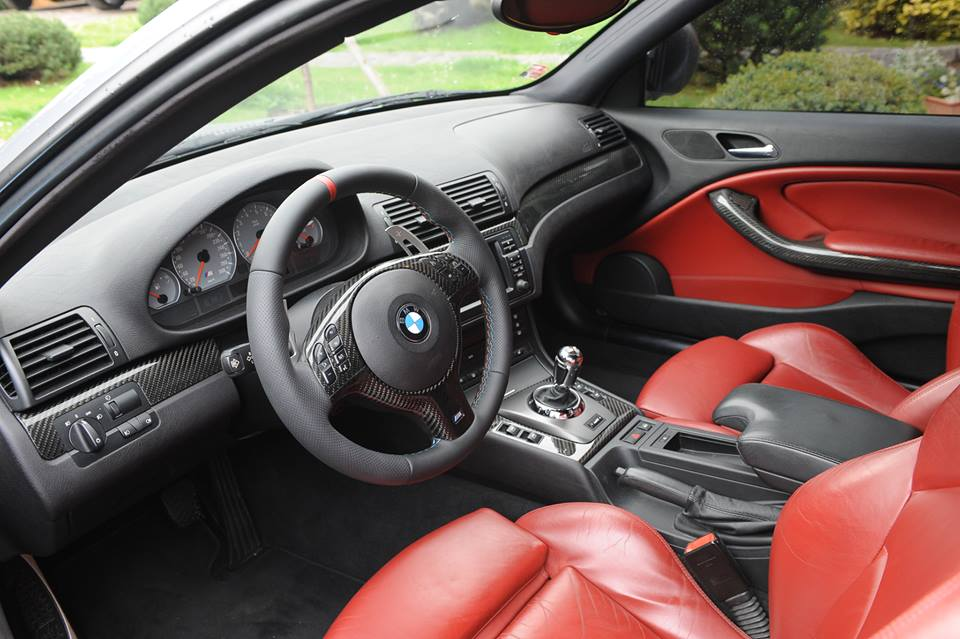BMW E46 CARBON INTERIER